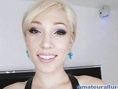 Arryn is a hawt legal age youngster golden-haired, that likes to have cum in her mouth and that babe can't emerge to be to get sufficiently. That Babe doesn't waste any time and gets down on her knees and starts unfathomable throating dick. That Babe gets