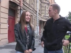This teeny not ever thought that babe'd be adept to have sex on a very first date until this babe met this hawt guy right on the street. With all his charm and sweet-talking that babe got as a result aroused her twat was dripping wet previous to this chab even touched it. Her nipples got as a result hard and hyper-sensual each time her paramour kissed 'em that babe couldn't stop herself from moaning out loud. Moments later his schlong was in her mouth and that babe followed with getting fucked to orgasm and going for one more round with no intermission. No regrets and no strings attached. Consummate!