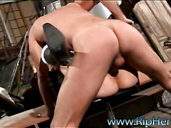 The hottie could get strong orgasms solely from anal fucking