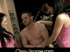 Within small in number teasing and seducing moves naught brunettes Ferrara Gomez and Anabell obtain what their horny holes need: a-hole fuck pussyfuck and a large tax of cum in mouth to share and pay off