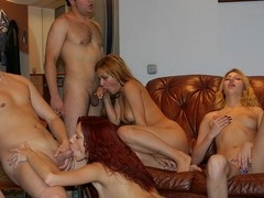 Oh yeah, those sexy college angels know how to throw a first-class fuck party that'll with no holds barred your mind!