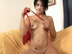 Playing with hard sextoy drives sweetheart to void urine uncontrollably