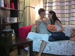 Anything can happen on Halloween and even this shy eighteen y.o. chick lastly makes a decision to try anal sex with her ever horny boyfriend. This Babe starts it all with a mind boggling oral sex engulfing dong good to prepare it for her constricted virgin wazoo hole, then follows with getting anally fingered and taking some great backdoor fucking in various poses. Doggystyle or not - this inexperienced legal life-span kid cutie enjoys each pont of time of it with completely recent unfathomable and extremely powerful sensations.