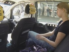 Czech women get fucked in TAXI! They have no idea cameras watch anything. This taxi not at any time drove a woman for free, it's gas or a-hole. First real hidden camera in taxi cab! Just get in and have a fun the ride.